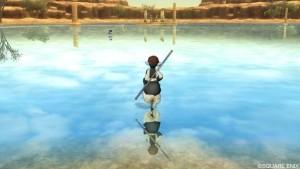 キレイな湖面でめぐりあい!