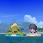 浮き輪で遊ぼう男子チーム