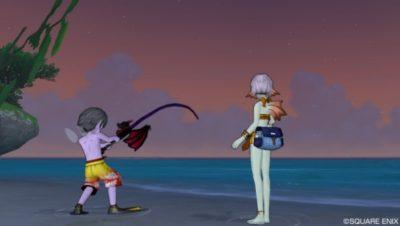 キュララナビーチは大型魚の楽園